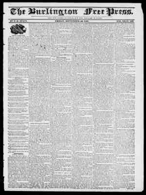 NOT THE (J LORY OF CKSAHJ II V T THE WE I, F A HE o F HO M E. BY II. B, STACY. FRIDAY, SEPTEMBER, 22, 1837. VOIv. XI No. 535