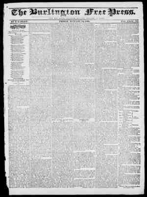 NOT T II V. G L O It Y O F O S A It ; II V T T II H W E L F A KH O F It O M I). BY IF. B. STACY. FRIDAY, JAWMM 12, 1838. Vain