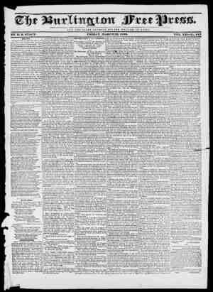 4Rbi M NOT T II K I, O It Y O F C 2R S A K I) U T 1' II E W E L F A HE OF It O M E . BY If. U. STACY- FRIDAY, MAUCIX22, 1830.