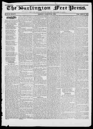 N O T II K ( I. O U Y O F C S A H HUT T II E W E L F A RE OF U O fll E BY If. 13. STACY- FI1IDAY, MARCH 29, 1839. VOL. XII