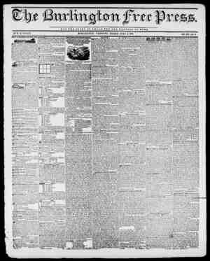 NOT TUB OLOST O T 0 JB 8 A R) 0 T TUB WBLFARB OF HOME. BY II. B. STACY. BURLINGTON, VERMONT, FRIDAY, JULY 3, 1840. VOL....