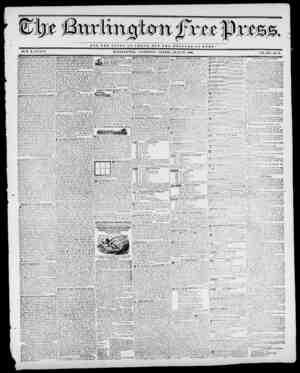 WOT TUB GLORY OP CJESAII, BUT TUB WBX.FAR E Tt R (TnTl! BY II. B. STAGY. U UK LIN G TON, VERMONT, FRIDAY, JULY 31, 1840. VOL.
