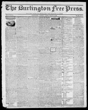 NOT THE GLORY O T CJBSAR, BUT TUB WBLFARB OF HOME. BY H. B. STAOV. MRLINGTON, VEltMONT, FRIDAY, AUGUST 14,1840. VOL....