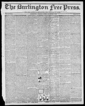 mm NOT TUB GLORY OT OJBSAR'i BUT THB W L F A R I OP BOMB. BY II. B. STACY. BURLINGTON, VERMONT, FRIDAY, NOVEMBER 13, 1840.