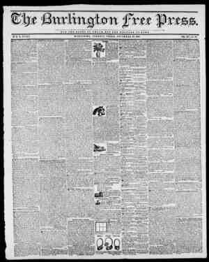 NOT T H B OLORT OF O JO S A B', O T T H a l r a r b or soma. BY II. B. STACY. BURLINGTON, VERMONT, FRIDAY, NOVEMBER 20, 1840.