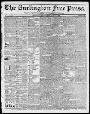 NOT THE OX.OBT OF 0 aS 8 A nt BUT TKS W L P A X or KOMI. BY H. 1). STACY. BURLINGTON, VERMONT, FRIDAY, JANUARY 29, 1841. VOL.