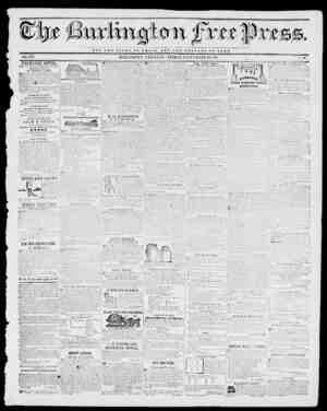 NOT THE GLORY O V OaSAH BUT TUB WELFARE Or ROME. VOL. XVI. BURLINGTON, VERMONT, FRIDAY, SEPTEMBER 23,1842. No. 10. EXCHANGE