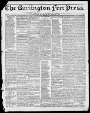 - Mi fc tVX E. VOL. XVI. BURLINGTON, VERMONT, FRIDAY, FEBRUARY n, 1843. No. 36. NOT TUB GLORY OF OASAR BUT TUB WELFARE OF RO