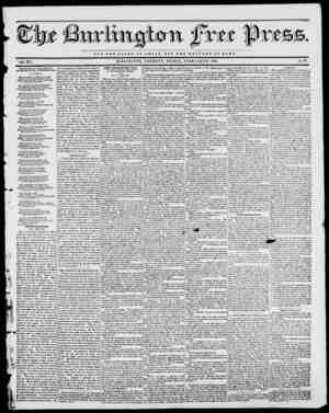 NOT THE GLORY OF C 43 S A II DOT TUB WELFARE OF HOME. VOL. XVI. BURLINGTON, VERMONT, FRIDAY, FEBRUARY 24, 1843. No. 39 Fiom