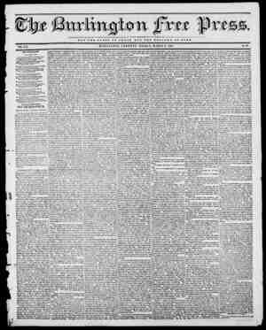 in fvtt f) NOT TUB GLOBT OF C 2! S A B BUT TUB WBLFABB OF BOMB VOL. XVI. BURLINGTON, VERMONT, FRIDAY, MARCH 3, 1843. No. 40