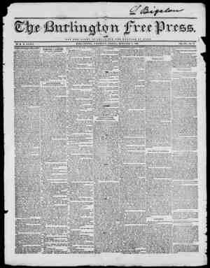 NOT THE S 1 O B I OF O S S A K OUT TUB WELFARE -Ot HOME BURLINGTON, VERMONT, FRIDAY, OCTOBER 1845. BY H. B. STACY. VOL. XIX