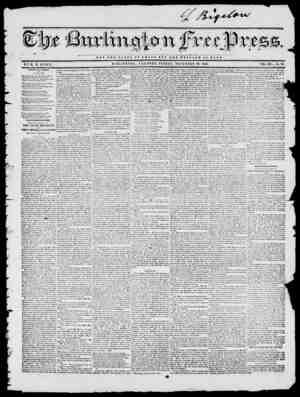 NOT THE GLORY OF O H S A R DOT TUB WELFARE OP ROME B Y II. B. STACY. BURLINGTON, VERMONT, P1UDAY, NOVEMBER 28, 1845. VOL. XIX
