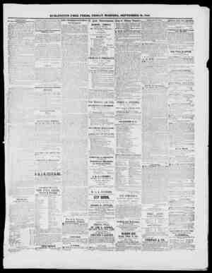 BUllLINGrTON FREE PKESS, FRIDAY &OI1N1NG, SEPTEMBER 18, 1810. Ih 7 i., ti) T.ATIIST NinVS. By Virgil & Hlio'i...