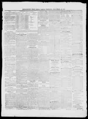 BURLINGTON FREE PRESS, FRIDAY MORNING, NOVEMBER 13, JL84ti. 1810. THLtlM The War. No additional news from the Army. The Sen