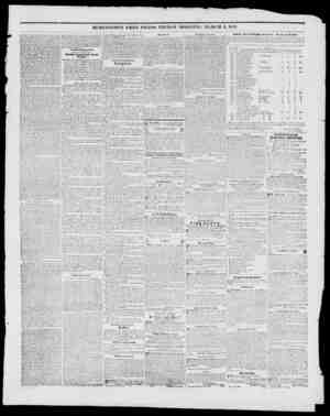 BURLINGTON FREE PRESS, FRIDAY MORNING, MARCH 5. 1847. pivc some assurance to Mexico, tint von want tmncof her territory...