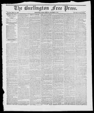 Vol. -V.Vt. Whole ISo. 10ti3. IHIKMiTOX, FRIDAY M Oil IV INC, KOVEMIlKIt ff, 1847. IVcw Series, Vol. 2--..IV0. 10 Burlington