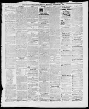 BURLINGTON FREE PRESS, FRIDAY MORNINGL NOVEMBER 5, 1847, r.1 i f r From Slon'iielicr. On Vpi!nrrl iy, iIh'TImiit P'peil l-'o
