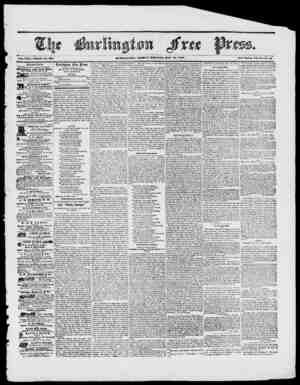 BUKLINOTON, FRIDAY MORNING, MAY 1, 1848. Vol. XXI. Whole IV o. 301. Sew Scries, Vol. a IVo. 47 BURLING rox AGRICULTURAL...
