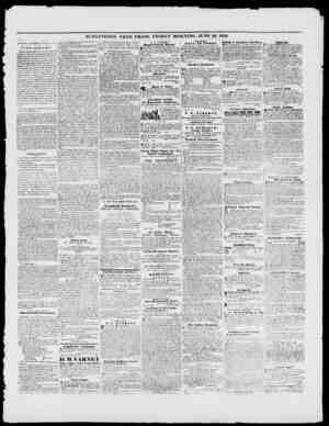 BURLINGTON FREE PRESS, FRIDAY MORNING, JUNE 23, 1848. THURSDAY BVKNIXC, iUSV, 2-2, IMS. IScn. Tnylor'a opinion on Nlnvery.