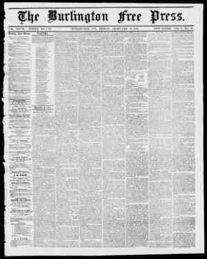 Purlittfif0n mtt VOL. XXVII WHOLE NO. 1,434.. EU11LINGTON, VT., FRIDAY, FEBRUARY 23, 1855. NEW SERIES, ArOL. 9, NO. 34. f ft.