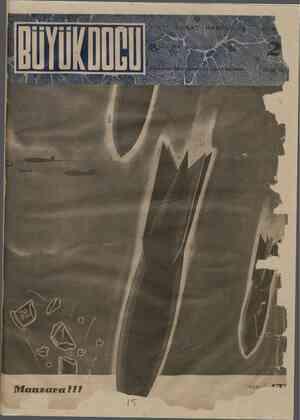 Büyük Doğu Dergisi 24 Eylül 1943 kapağı