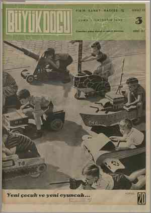 Büyük Doğu Dergisi 1 Ekim 1943 kapağı