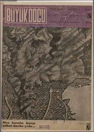 Büyük Doğu Dergisi 15 Ekim 1943 kapağı