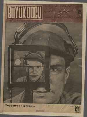 Büyük Doğu Dergisi 22 Ekim 1943 kapağı