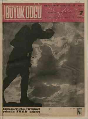 Büyük Doğu Dergisi 29 Ekim 1943 kapağı