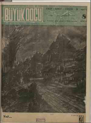 Büyük Doğu Dergisi 5 Kasım 1943 kapağı