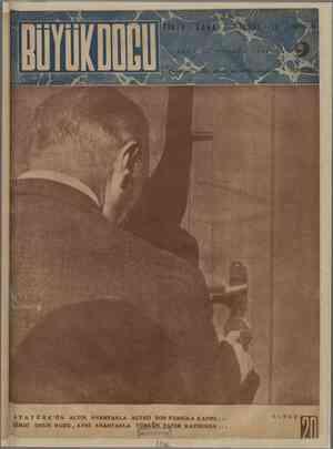 Büyük Doğu Dergisi 12 Kasım 1943 kapağı
