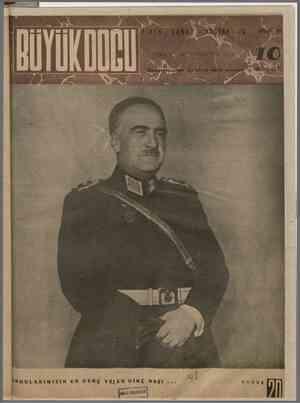 Büyük Doğu Dergisi 19 Kasım 1943 kapağı