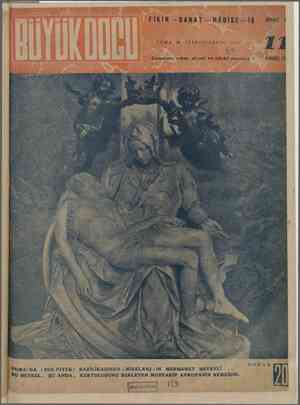 Büyük Doğu Dergisi 26 Kasım 1943 kapağı