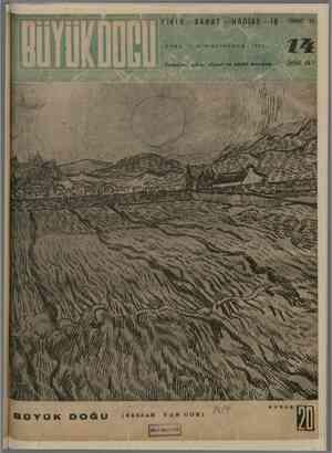 Büyük Doğu Dergisi 17 Aralık 1943 kapağı
