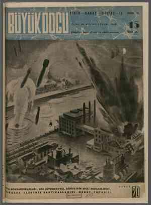 Büyük Doğu Dergisi 24 Aralık 1943 kapağı