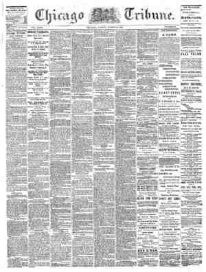The Chicago Tribune Gazetesi 26 Ağustos 1864 kapağı