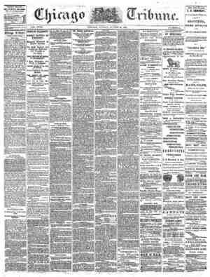 The Chicago Tribune Gazetesi 28 Ağustos 1864 kapağı