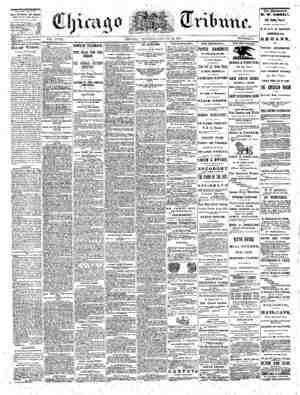 The Chicago Tribune Gazetesi 30 Ağustos 1864 kapağı