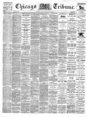 The Chicago Tribune Gazetesi 2 Eylül 1864 kapağı