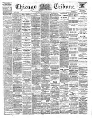 The Chicago Tribune Gazetesi 3 Eylül 1864 kapağı