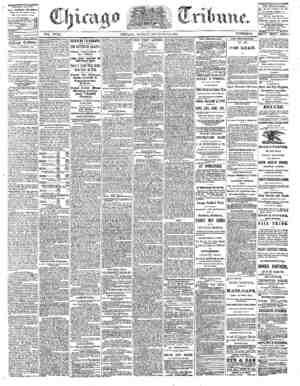 The Chicago Tribune Gazetesi 5 Eylül 1864 kapağı