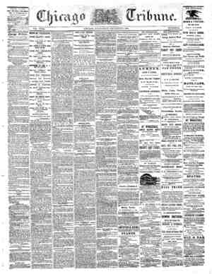 The Chicago Tribune Gazetesi 7 Eylül 1864 kapağı