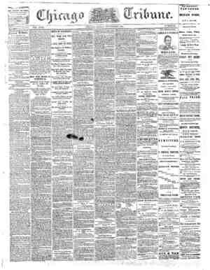 The Chicago Tribune Gazetesi 9 Eylül 1864 kapağı