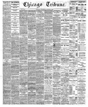 Chicago Cribane. ■WEDNESDAY, JANUARY 3. 1866. XUfi NEWS. • TheUte Henry Winter Davis km buried at SelbmoteywtcrfayKlth...