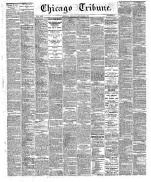 Chicago tribune. MOKDAT. JANUAEY 23. 1886. TBK SBWS. Shipments ofspecll! from Sew York on SaU «rt«r irert tS3S,OOO. , , , Tbm