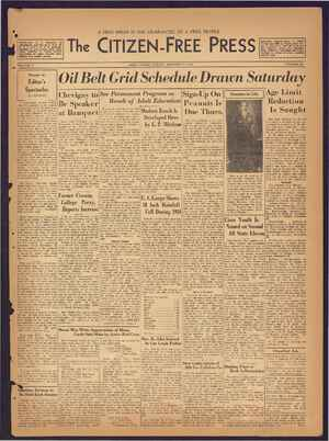 The Citizen-Free Press Gazetesi 13 Ocak 1935 kapağı