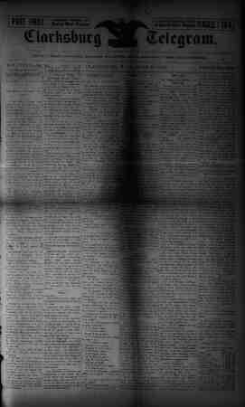 The Clarksburg Telegram Gazetesi 23 Haziran 1893 kapağı