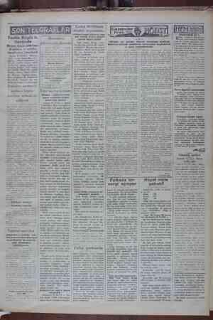Tevfık Ruştıı B. C Berlinde Heyet Alman hüküme- ti erkâmı ve sefirler tarafından karşılandı ! Berlin 20 (XA.) — Hariciye...