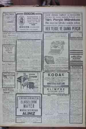—— I7 Meya 1920 Yelkenci Vapurları İZMİR SÜR'AT POSTASI Çi İSMET P. vapuru 19 Mayıs Pazar Btinü tam sant 15 teGalata...