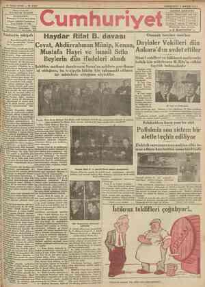 «FNF N* 2157 Başmuharrlrl NADÎ İDAREHANESİ: B6\niinnmunıi)6 karçmnd» dairei aahsnsa Telgraf: tstanbul Cumhuriyet Posta...